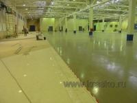 Тистром — полиуретановый износостойкий лак для бетона, кирпича, камня.